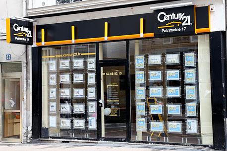 CENTURY 21 Patrimoine 17 - Agence immobilière - Paris
