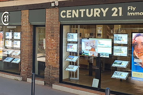 Agence immobilièreCENTURY 21 Fly Immo, 31300 TOULOUSE