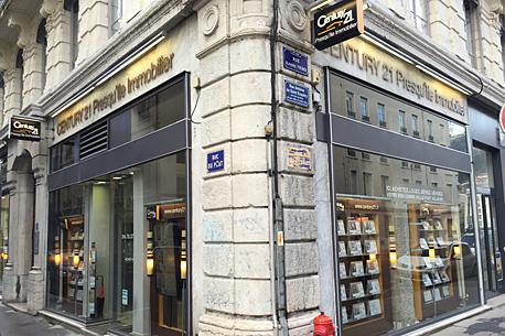 CENTURY 21 Presqu'île Immobilier - Agence immobilière - Lyon