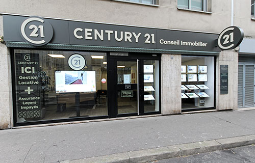 Agence immobilièreCENTURY 21 Conseil Immobilier, 92400 COURBEVOIE