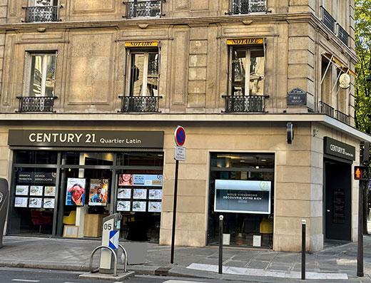 CENTURY 21 Quartier Latin - Agence immobilière - Paris