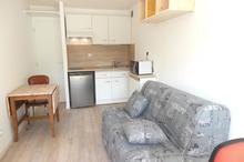 Location appartement - JACOB BELLECOMBETTE (73000) - 17.2 m² - 1 pièce