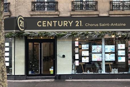CENTURY 21 Chorus Saint-Antoine - Agence immobilière - Paris