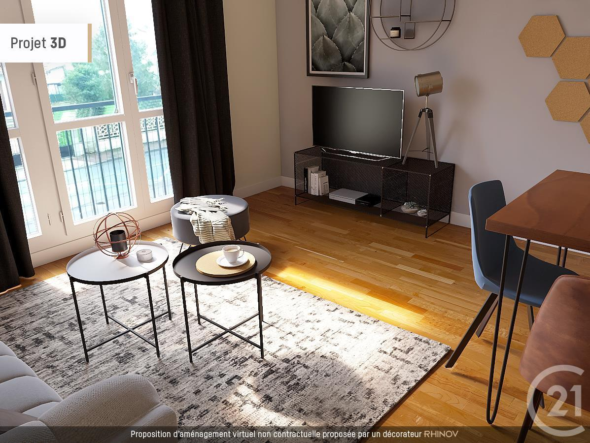 amenagement appartement 57 m2