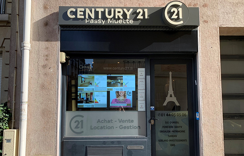 CENTURY 21 Passy Muette - Agence immobilière - Paris