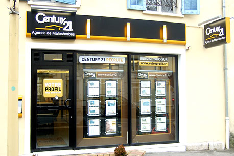 Agence immobilièreCENTURY 21 Agence de Malesherbes, 45330 LE MALESHERBOIS