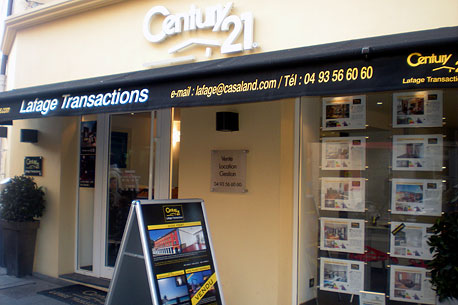 Agence immobilièreCENTURY 21 Lafage Transactions, 06300 NICE