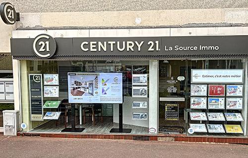 CENTURY 21 La Source Immo - Agence immobilière - Franconville