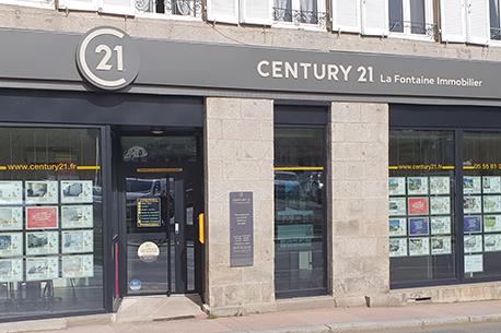 CENTURY 21 La Fontaine Immobilier - Agence immobilière - Guéret