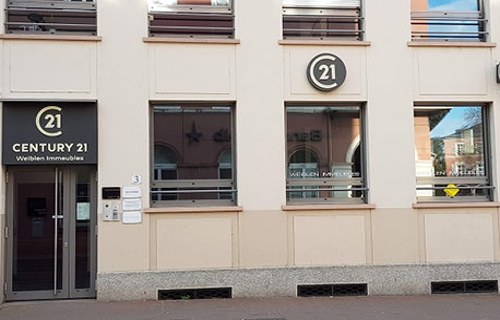 CENTURY 21 Weiblen Immeubles - Agence immobilière - Mulhouse