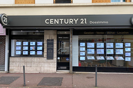 Agence immobilièreCENTURY 21 Dossimmo, 93600 AULNAY SOUS BOIS
