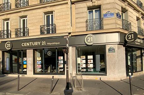 CENTURY 21 République - Agence immobilière - Paris