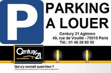 Location parking - PARIS (75015) - 11.8 m²