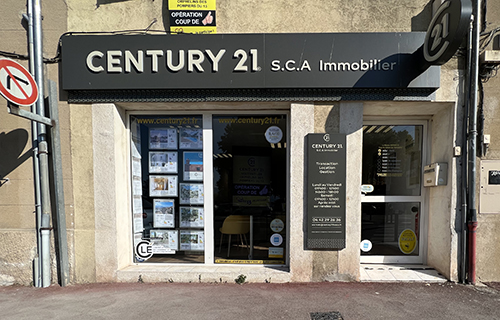 Agence immobilièreCENTURY 21 S.C.A. Immobilier, 13530 TRETS