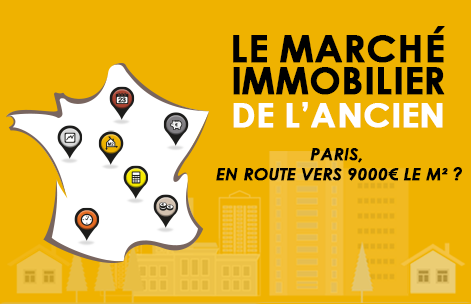 Paris : en route vers 9000€ le m² ?