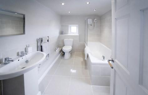 La salle de bains, une invention moderne.