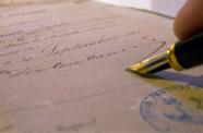 Signature Notaire