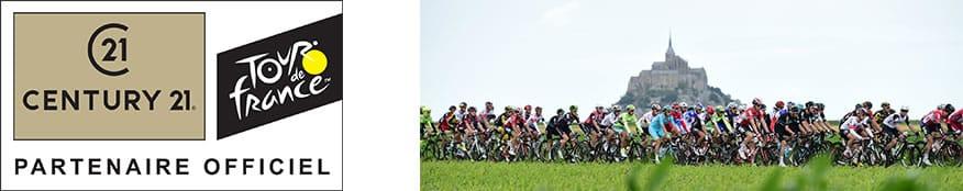 CENTURY 21, partenaire officiel du Tour de France